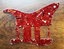New Strat Pickguard Parchment 8 Hole 3 Ply HSS for Fender Guitar USA Gift