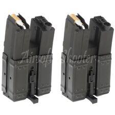 Airsoft Gear CYMA 2pcs 250rd  Short Mag Hi-Cap Dual Magazine for MP5 Series AEG