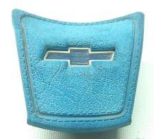 67-72 CHEVY TRUCK C10 K10 C15  CHEVROLET G10 VAN 71-78 STEERING HORN BUTTON BLUE