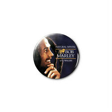 Bob Marley (b) 1.25in Pins Buttons Badge *BUY 2, GET 1 FREE*