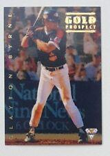1994 Futera ABL Australian Baseball Gold Prospect Insert Card #113 Clayton Byrne