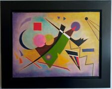 NICE OIL ON CANVAS WASSILY KANDINSKY 1931 WITH FRAME IN GOOD CONDITION