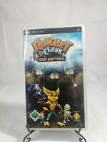 Ratchet And Clank Size Matters - Sony PSP - Complete With Manual Black Label
