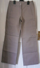 NEXT WOMENS  BEIGE CASUAL CARGOS TROUSER SIZE:10/38(WJ22)NEW