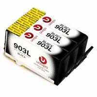 Lot Ink Cartridges for HP 903 L Black Ink Cartridges, 3 Black Combo Pack FAST/FR