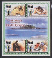 Aitutaki - 2000, Olympic Games, Sydney sheet - MNH - SG 712/15