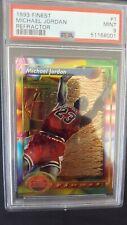 1993 Finest Refractor Michael Jordan #1 PSA 9 MINT Brand New Case
