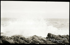 "Early 1900s Postcard Film Negative, ""Surf Scene, Cape Porpoise Maine #36"""