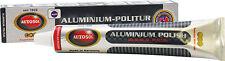 SOLVOL autosol aluminium cleaner polish shine pâte 75ml utiliser sur d'autres métaux v