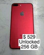 Iphone 7 Plus Unlocked 256 Gb Red Used
