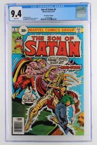 Son of Satan #5 -NEAR MINT- CGC 9.4 NM - Marvel 1976 - 30 Cent Variant!!!