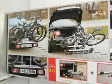Unitec Heckträger Kupplungs-Fahrradträger ALU ATLAS Evolution für 2 Fahrräder