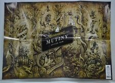 Bundaberg Mutiny Spiced Rum Brand New Bundy Graphic Design Wrapping Paper Poster