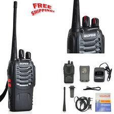 Handheld Scanner Portable 2 two Way Radio Transceiver Antenna Uhf Walkie Talkie