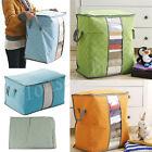 Portable Home Storage Box Organizer Non Woven Underbed Pouch Storage Bag Box Bag