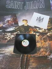 JULIAN COPE St. Julian LP & BONUS INTERVIEW LP & POSTER 1987 UK 1ST PRESSING