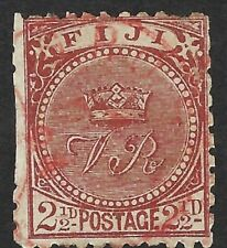 FIJI-1891 2½d chocolate used SG79?
