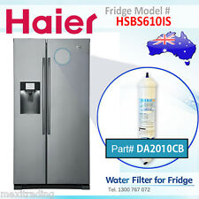 4 PACK  OF  HAIER  EXTERNAL INLINE FRIDGE FILTER  HSBS610IS