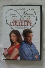 INTOLERABLE CRUELTY (DVD - 2004 ) George Clooney Catherine Zeta-Jones