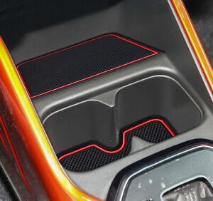 Gate Slot Mats fits Suzuki Swift 2018 2019 Rubber Non-slip Cup Holder Pads 12pcs