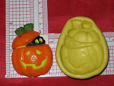 Pumpkin Cat Halloween Silicone Mold Resin Clay Candy A509 Resin Candy