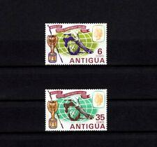 ANTIGUA - 1966 - QE II - SOCCER - WORLD CUP - TROPHY - MINT - MNH SET!