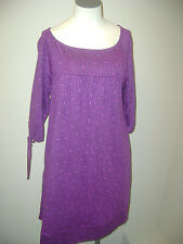 Juicy Couture Purple 3/4 Sleeve Dress NWT $118