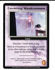 BABYLON 5 CCG Shadows  COVERING WEAKNESSES