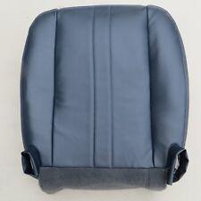02-14 Chevy Express1500-2500-350 V8 GAS Driver Bottom Vinyl seat cover Dark Blue