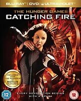 Hunger Games: Catching Fire  [Blu-ray + DVD] [2013][Region 2]