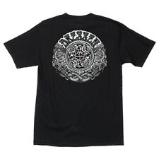 Santa Cruz Eric Dressen Black Roses Skateboard T Shirt Black Medium