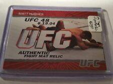 2009 Topps UFC Fight Mat Relics #FMMH Matt Hughes C