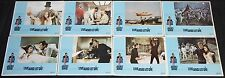 1973 James Bond 007 Live and Let Die Lobby Cards 8pc NM Roger Moore Yaphet Kotto