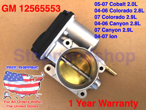 New Fuel Throttle Body for 2004-2007 Cobalt Colorado Canyon Ion 2.0 2.2 2.8 2.9