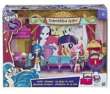 Pony Movie Teatro con My Little Exclusivo Muñeca Hasbro edad 5+ Equestria Chicas