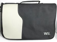 Nintendo Wii Carrying Case Messenger Travel Bag w Strap, Storage Padded Protect