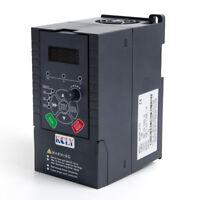 1.5KW 2HP VFD Inverter 7A 220V 1 Phase Variable Speed Drive VSD Drive Inverter