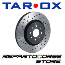 DISCHI SPORTIVI TAROX Sport Japan + PASTIGLIE AUTOBIANCHI A112 Abarth  anteriori