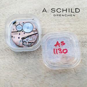 A. SCHILD Watch Movement 17j AS Cal. 1130 Wehrmachtswerk - Watchmaker Clearance