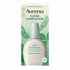 Aveeno Active Naturals Clear Complexion Daily Moisturizer oil-free 4fl oz 120mL