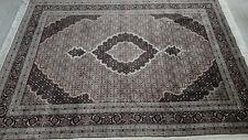 Echter handgeknüpfter Orient Teppich Tabriz mit Seide