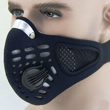Sales Black Anti Dust Motorcycle Bicycle Cycling Bike Ski Half Face Mask Filter