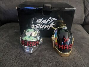 DAFT PUNK Limited Edition Holiday Christmas 2017 Ornament Set Complete with Box