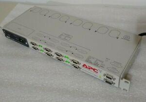 APC Masterswitch PLUS AP9225 with APC Smart Slot AP9606 Web/SNMP Management Card