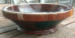 Lovely Vintage Hardwood Round Wooden Bowl
