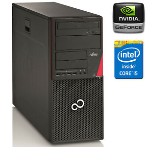 PC COMPUTER DA GIOCO GAMING QUAD CORE i5-6400T RAM 8GB SSD 240 NVIDIA GT730 4GB