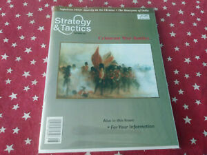 Strategy & Tactics Magazine Decision Games Unpunched #201 Crimean War Battles