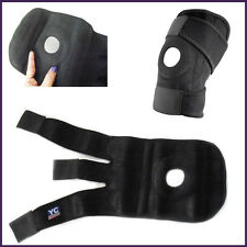 Gym Knee Support Guard Neoprene Elastic & Velcro Fastening Adjustable Band Guard