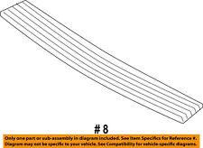 Rear Bumper-Step Pad Protector Scratch Guard Cover 2L7Z17B807AAA