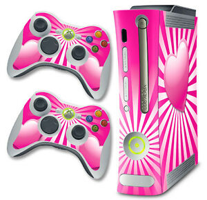 Skin Decal Wrap for Xbox 360 Original Gaming Console & Controller Xbox360 HART P